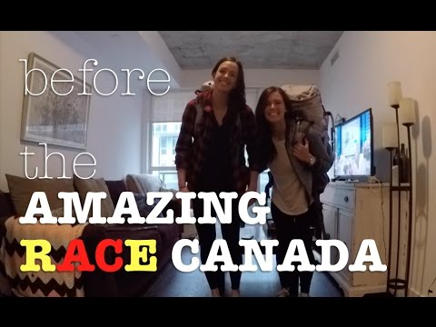 AMAZING RACE Prep, Packing & NERVES