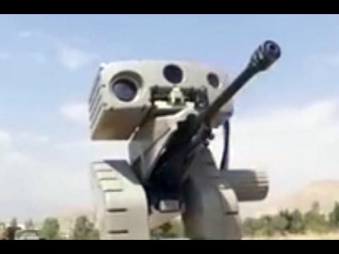 Iran, Military Robots