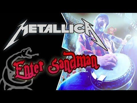 Metallica - Enter Sandman BANJO cover