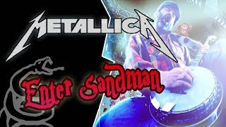 Metallica - Enter Sandman BANJO cover