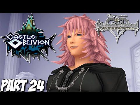 Kingdom Hearts Re: Chain of Memories Gameplay Walkthrough Part 24 - Castle Oblivion - PS3