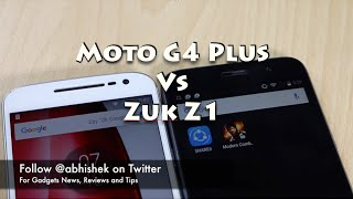 Hindi | Moto G4 Plus VS Zuk Z1 Comparison Review | Gadgets To Use