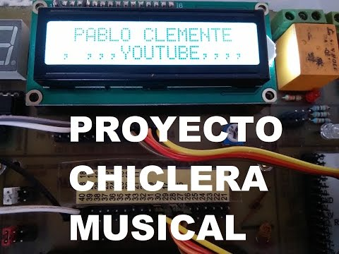 CHICLERA MUSICAL PROYECTO