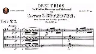 Beethoven - String Trio No. 2,  Op. 9 No. 1