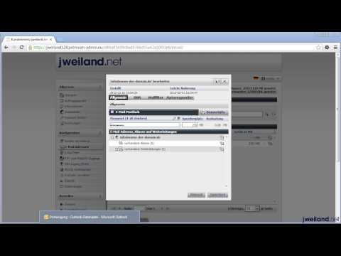 E-Mail Konto in Outlook einrichten (IMAP)