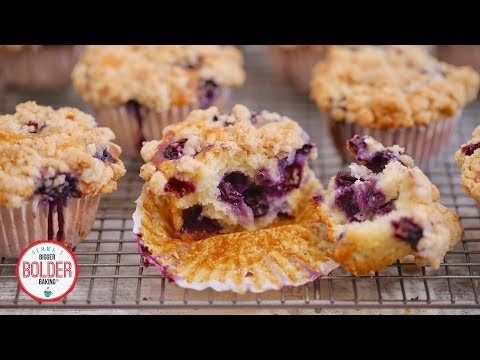 Gemma's Best-Ever Blueberry Muffins | Bigger Bolder Baking
