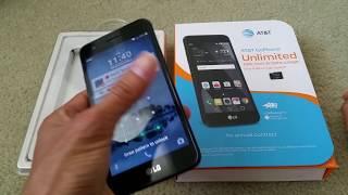 How To Install & Remove LG Phoenix 3  GSM Nano SIM & MicroSD Memory Cards Full HD 2017