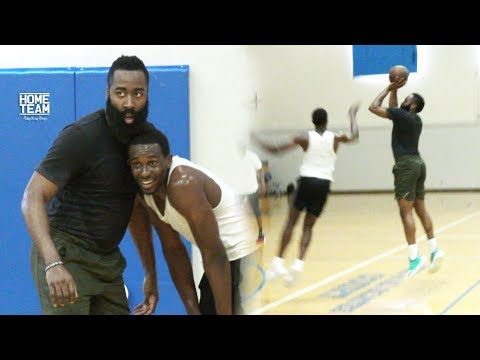 James Harden NBA MVP at Rico Hines UCLA Run