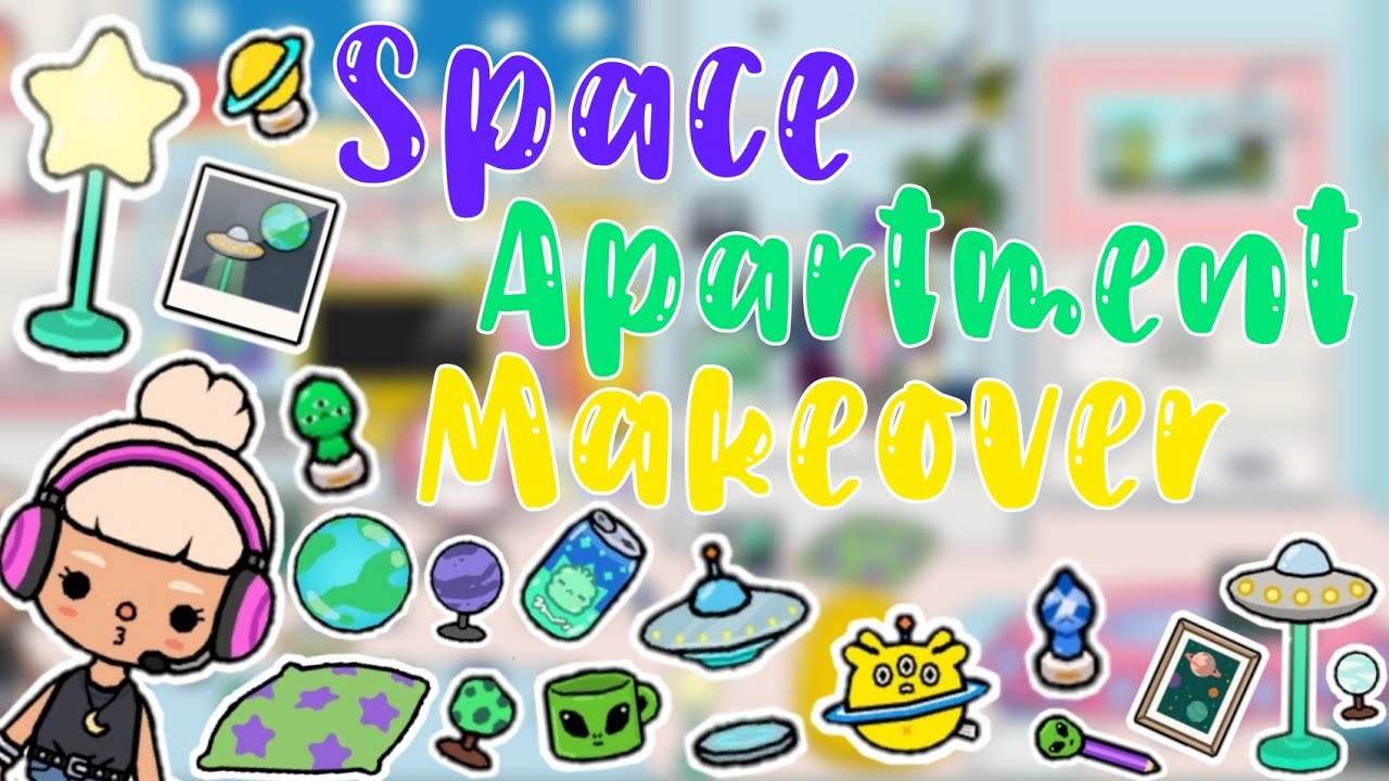 Space Themed Apartment Makeover | Toca Life World
