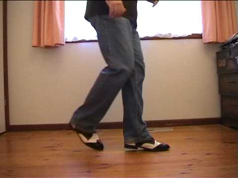 The Shuffle - Rock'n'Roll Line Dance Steps