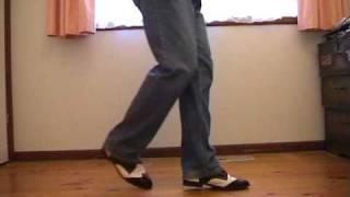 the shuffle rock n roll line dance steps