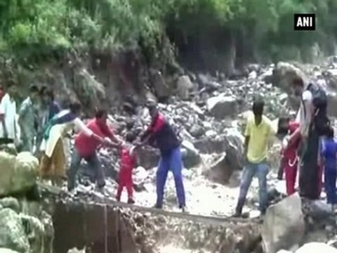 Watch: Students put lives at risk to reach school - ANI News