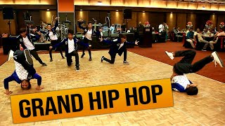 grand hip hop act ramod with cool steps must watch