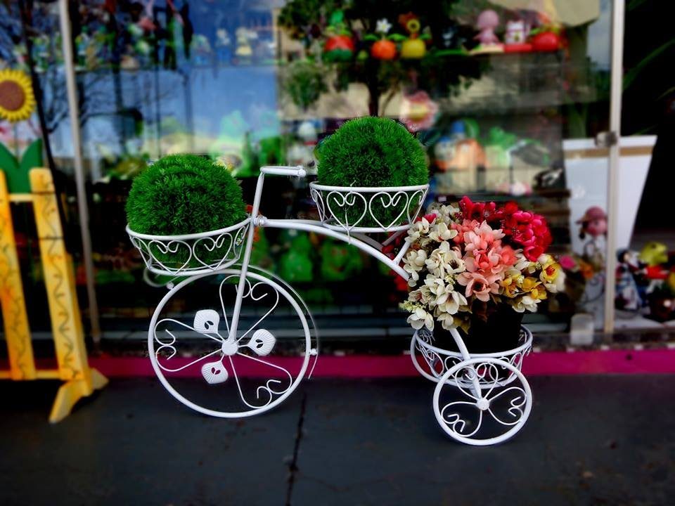 decoracao para jardins mercado livre:Bicicletas De Ferro Para Jardins – Mari Presentes – Cascavel pr