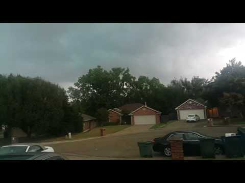 Severe Thunderstorm Edmond Oklahoma 31 August 2016 Part 1