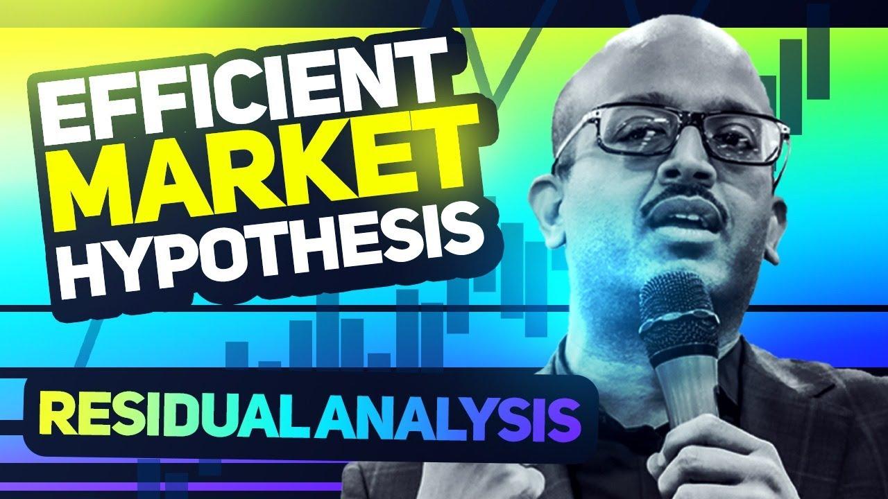 CA Final SFM | Efficient Market Hypothesis | Sanjay Saraf Sir