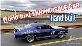 MINI MUSCLE CARS AUSTRALIA  XB GT -YOU HAVE NEVER SEEN THIS BEFORE-HAND BUILT MINI RACE CAR