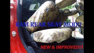 '13-'17 RAM New & Improved Back / Rear Seat Mod!!