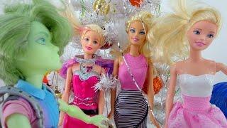 Видео для девочек.  Барби на вечеринке у Портера!