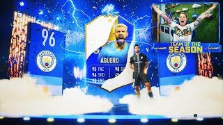 ME TOCA AGÜERO TOTS E ICONO IN PACKS!!! | FIFA 19