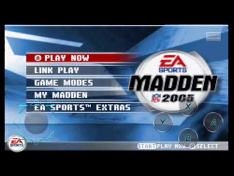 Nfl 2005 gameplay