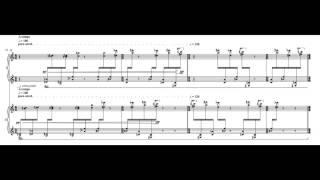 Dai FUJIKURA - Three Miniatures for piano duo 3 of 3