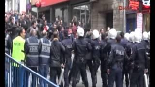 HDP yuruyuse gectı Trabzon karıstı