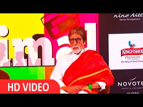 "Amitabh Bachchan At Book Reading Session ""NAME, PLACE, ANIMAL, THING"" UNCUT"