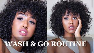 SHORT NATURAL CURLY HAIR WASH & GO: Shea Moisture   Dee Mohamud