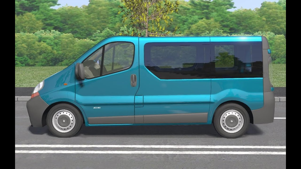 renault trafic ii 2001 drive links racer free game. Black Bedroom Furniture Sets. Home Design Ideas