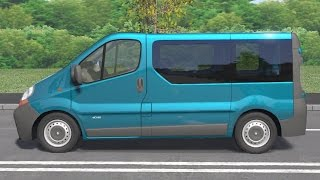Renault Trafic II 2001 drive (Links) - Racer: free game