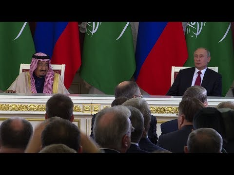 Saudi king's visit to Russia heralds shift in global energy markets
