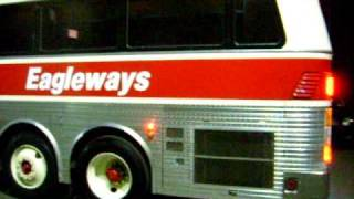 Eagleways New York Bus Charters and Tours Silver Eagle Bus Model 10