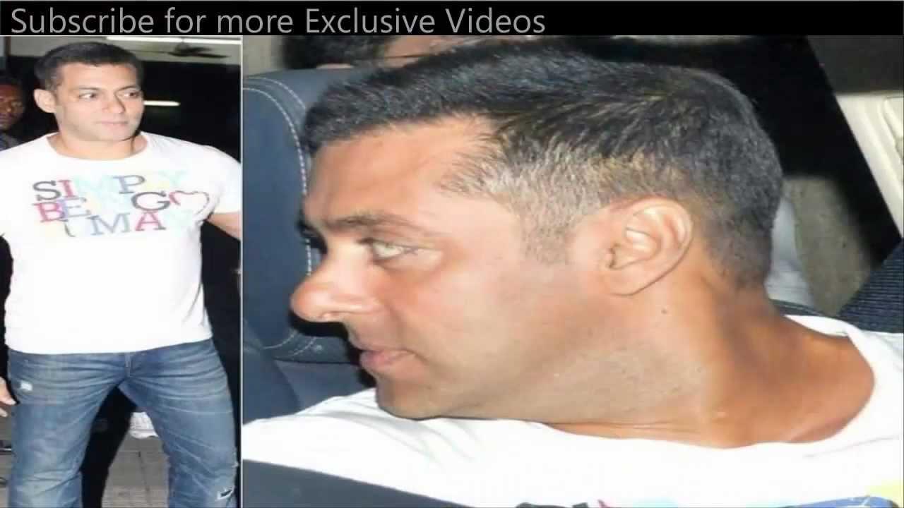 Salman Khan S New Haircut Hair Style Youtube