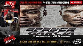 🔴Errol Spence Jr. vs Mikey Garcia Spence Sparring Partner Burley Brooks Live🔥