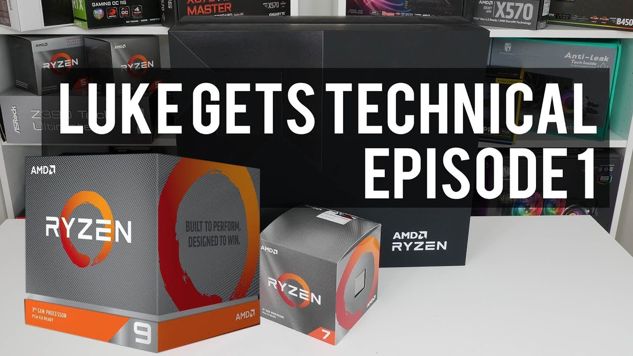 Luke Gets Technical EP 1: Ryzen 3000 Success, X570 & AM4 BIOS issues, AGESA  1 0 0 3 Testing