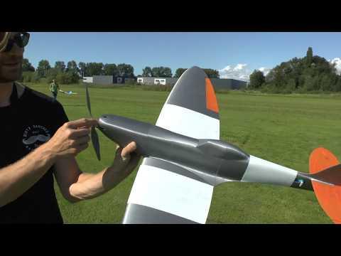 3d Printed Spitfire maiden flight