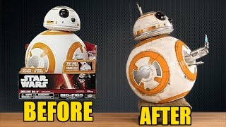 Jakks Pacific Deluxe BB-8 Makeover: Chris' Custom Collectables!
