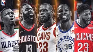 NBA 2018 All 1st, 2nd, 3rd Team Revealed! 2018 NBA Season Awards