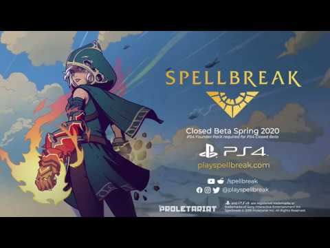 Spellbreak PS4 Gameplay Trailer (State of Play 2019)