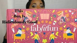 Hey! Come Watch Me Get Into This Fab Fit Fun Fall 2018 Box