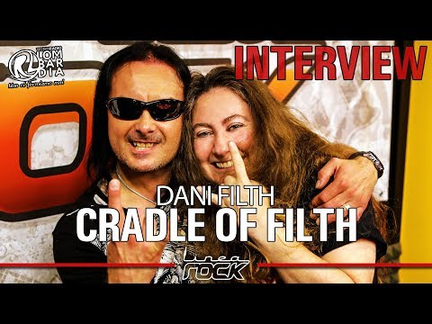 CRADLE OF FILTH - Dani Filth interview @Linea Rock 2017 by Barbara Caserta