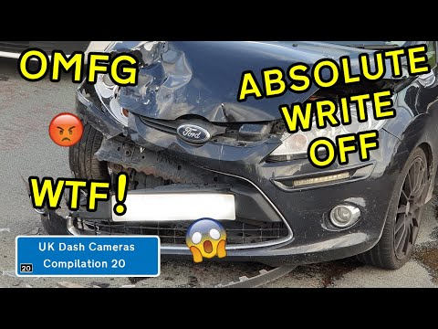 UK Dash Cameras - Compilation 20 - 2020 Bad Drivers, Crashes + Close Calls