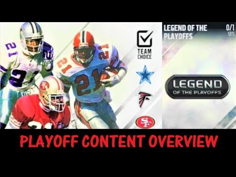Madden 18: New Playoff Content! Solos, Cards and Sets! NEW DEION SANDERS