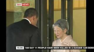 Obama Japan Bow