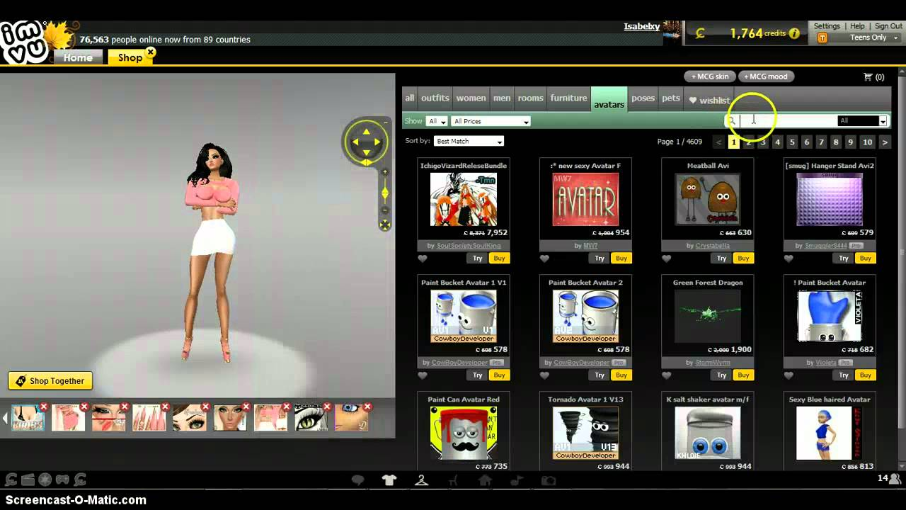 How to be naked on imvu without ap - YouTube