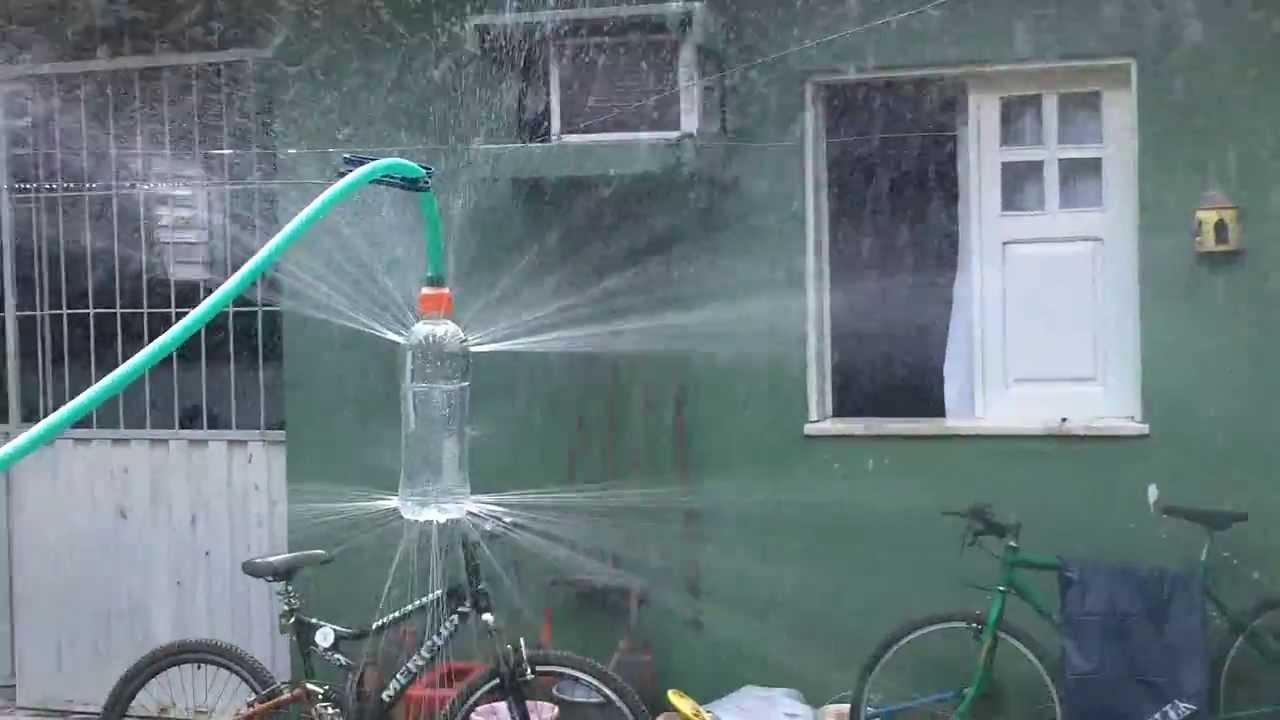 Aspersor caseiro youtube - Aspersor de agua ...