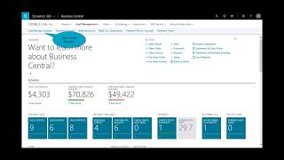 Dynamics 365 Business Central: Order to Cash from Business Central