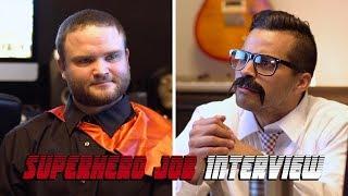 Superhero Job Interview   David Lopez
