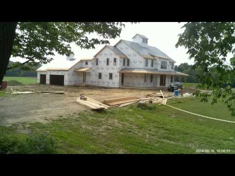 Colvin House 2014 Construction Timelapse